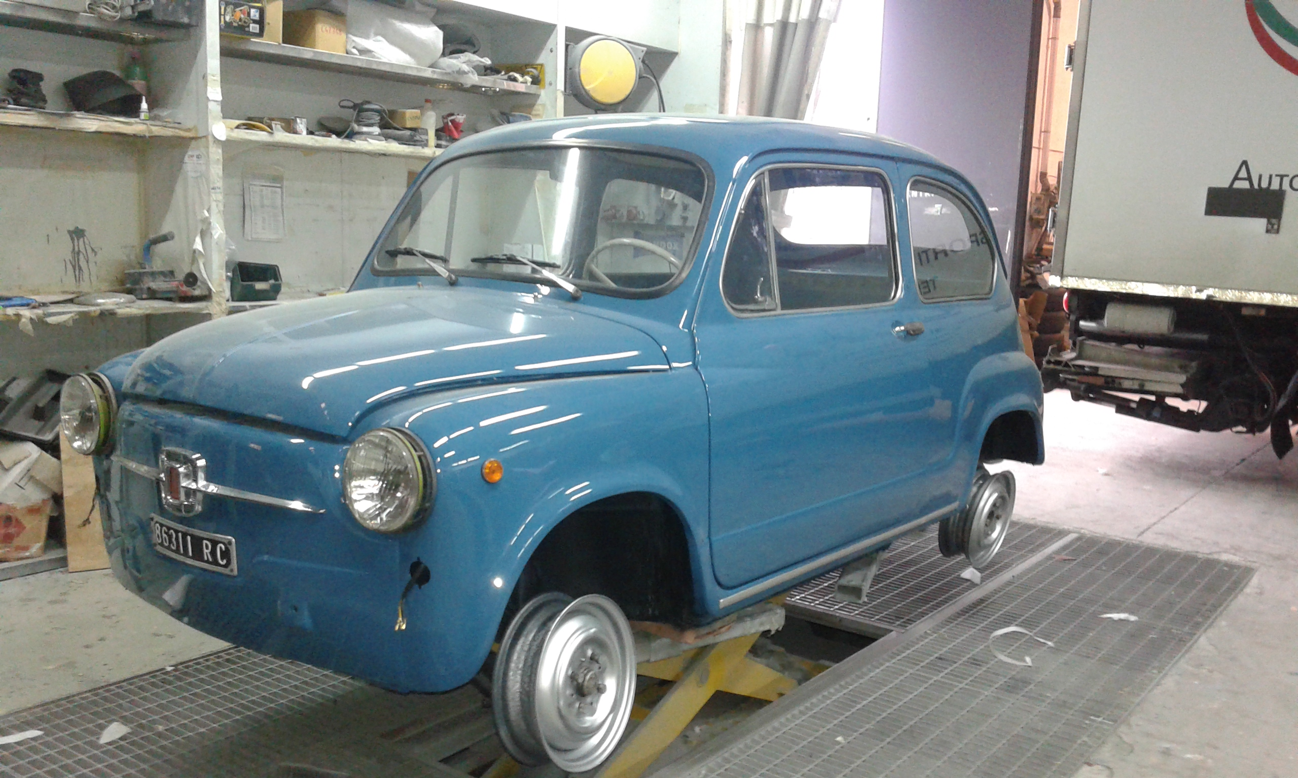 Restauro auto d'epoca genova
